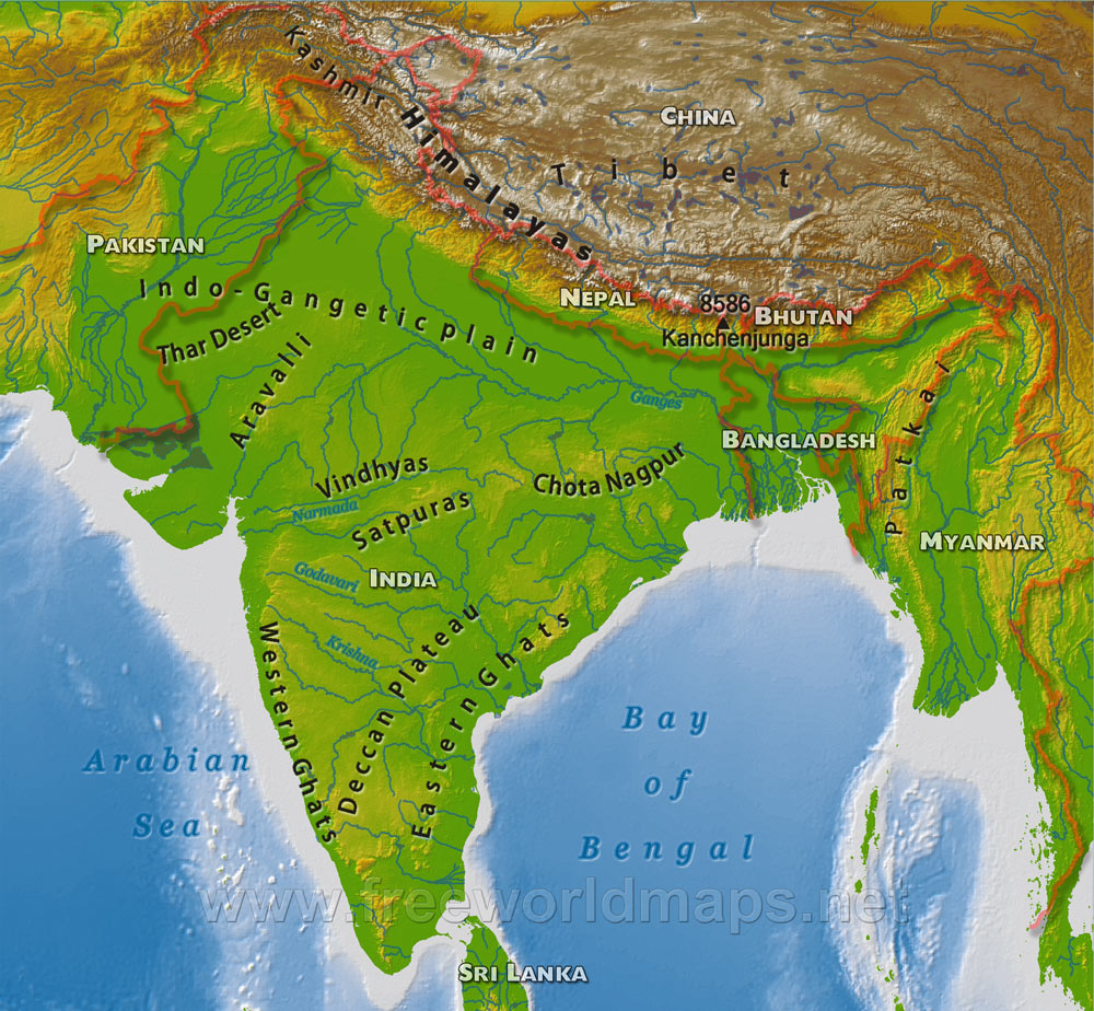 3 december world history map of india ela with ms hurney map of india gumiabroncs Gallery